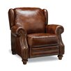 Henderson Leather Wing Recliner