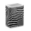 Safari Tooth Brush Holder in Black and White Zebra Print
