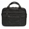 <strong>Leather Laptop Tech Briefcase</strong> by Mobile Edge