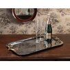 Zodax Rectangular Serving Tray with Horse Bit Handles