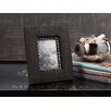 Zodax Raffia Picture Frame with Zebra Shells