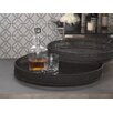<strong>Straight Weave Round Serving Tray</strong> by Zodax