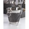 Zodax Woven Cane Wine Chiller with Ice Tong