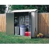 "<strong>7' W x 2'1.5"" D Steel Learn-To Shed</strong> by Arrow"