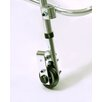 Variable Resistance Rear Large Walker Wheel with Built in Seat