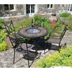 <strong>Europa Leisure</strong> Durango 5 Piece Round Tall Dining Set