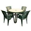 <strong>Toscana 5 Piece Round Dining Set</strong> by Europa Leisure