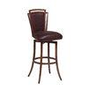 "Pastel Furniture Citrus Grove 26"" Swivel Bar Stool with Cushion"