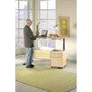 """Jesper Office Motorized Standing Desk in Wood 63"""" Top"""