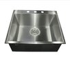 "Nantucket Sinks 25"" x 22"" Self Rimming Single Bowl Kitchen Sink"