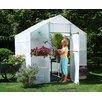 "Solexx Garden Master 8' 9"" H x 8.0' W x 24.0' D Polyethylene 3.5 mm Greenhouse"