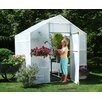 "<strong>Garden Master 8' 9"" H x 8.0' W x 8.0' D Polyethylene 5 mm Greenhouse</strong> by Solexx"