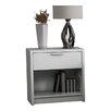 Stellar Home Furniture Eva 1 Drawer Nightstand
