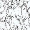 Marimekko Iltavilli Wallpaper