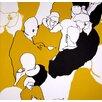 <strong>Ystavat Figural Wallpaper</strong> by Marimekko