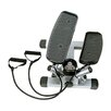 Sunny Health & Fitness Twist Adjustable Stepper with Exercise Bands
