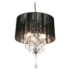 Locus Spencer 3 Light Crystal Chandelier