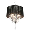<strong>Home Essence</strong> Locus Spencer 3 Light Crystal Chandelier