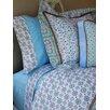 Modern Vintage Blue Duvet