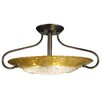 <strong>Framburg</strong> Pleiades 3 Light Semi Flush Mount