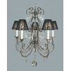 <strong>Framburg</strong> Contessa 5 Light Dining Chandelier