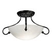 <strong>Framburg</strong> Simplicity 2 Light Semi Flush Mount