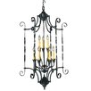 Galicia 9 Light Foyer Chandelier