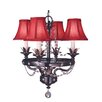 Isolde 4 Light Mini Chandelier