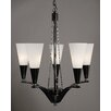<strong>Framburg</strong> Syzygy 5 Light Dining Chandelier