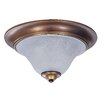 Framburg Black Forest 2 Light Flush Mount