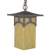 <strong>Arroyo Craftsman</strong> Katsura 1 Light Outdoor Hanging Lantern