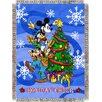 <strong>Entertainment Mickey Mouse Spread Cheer Throw</strong> by Northwest Co.