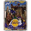Northwest Co. NBA Kobe Bryant Player Woven Throw Blanket