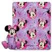 <strong>Minnie Mouse Polyester Fleece Throw</strong> by Northwest Co.