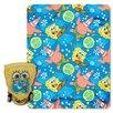 Northwest Co. Spongebob Squarepants Polyester Fleece Throw