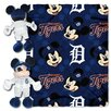 <strong>Northwest Co.</strong> MLB Mickey Mouse Fleece Throw