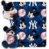 Northwest Co. MLB New York Yankees Mickey Mouse Fleece Throw