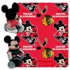 Northwest Co. NHL Chicago Blackhawks Mickey Mouse Fleece Throw