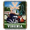 Northwest Co. NCAA Virginia Tapestry Throw