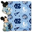 Northwest Co. NCAA North Carolina Mickey Mouse Polyester Fleece Throw