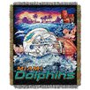 Northwest Co. NFL Miami Dolphins Tapestry Throw