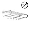 WS Bath Collections Duemila Self-Adhesive Towel Rack