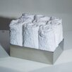 "WS Bath Collections Complements 7.9"" x 5.9"" Saon Box for Hand Towels in Stainless Steel"
