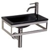 WS Bath Collections Linea Pocieta Bathroom Sink
