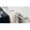 "Metric 11.8"" Towel Bar in Polished Chrome"