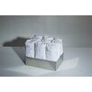 "<strong>WS Bath Collections</strong> Complements 7.9"" x 5.9"" Saon Box for Hand Towels in Stainless Steel"