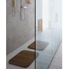 "Complements Tapie Shower Mat in Teak Wood - 2'5"" x 2'"