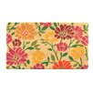 <strong>Spring Daisies Coir Doormat</strong> by Design by AKRO