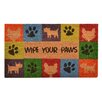 Design by AKRO Wipe Your Feet Doormat