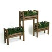 Algreen Stack N Garden Rectangle Plant Stand